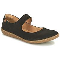 Zapatos Mujer Bailarinas-manoletinas El Naturalista CORAL Negro