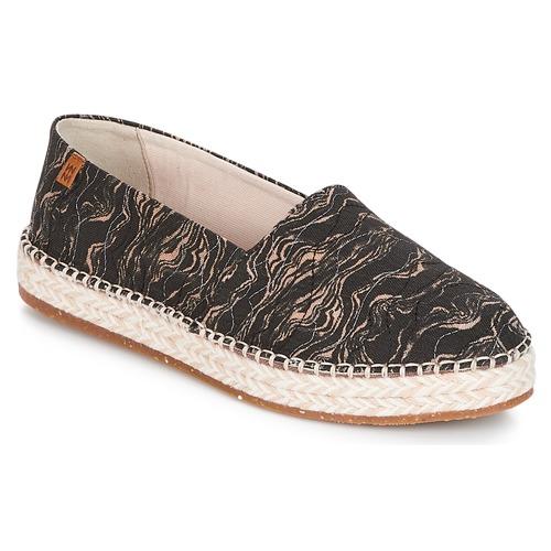 Zapatos de mujer baratos zapatos de mujer Zapatos especiales El Naturalista SEAWEED CANVAS Negro / Gris