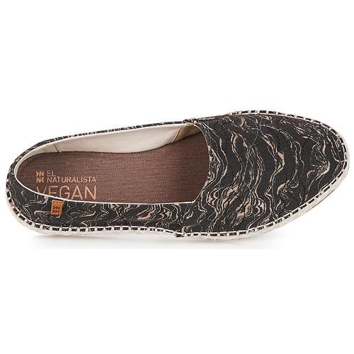 Seaweed Mujer Naturalista Zapatos Alpargatas NegroGris El Canvas mnOyv8wPN0