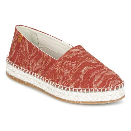 Cómodo y bien parecido Zapatos especiales El Naturalista SEAWEED CANVAS Rojo / Naranja