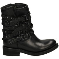 Zapatos Mujer Botines Ash DESTROYER NAPPA Negro
