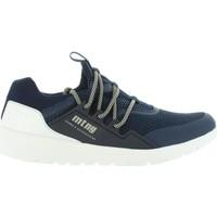 Zapatos Hombre Zapatillas bajas MTNG 84155 Azul