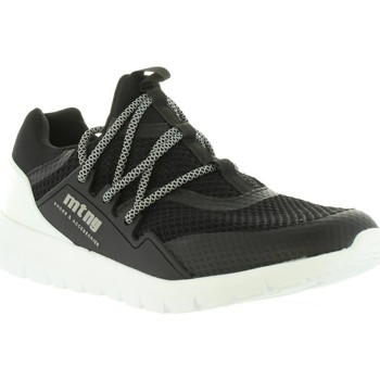 Zapatos Hombre Zapatillas bajas MTNG 84155 Negro