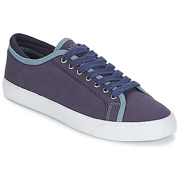 Zapatos Hombre Zapatillas bajas Hackett MR CLASSIC PLIMSOLE Marino
