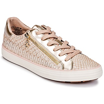 Zapatos Mujer Zapatillas bajas S.Oliver BOOMBO Rosa / Gold