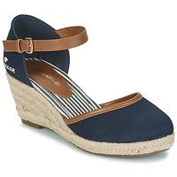 Zapatos Mujer Zapatos de tacón Tom Tailor ESKIM Marino