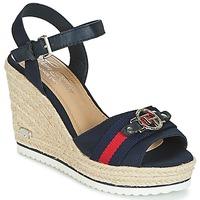 Zapatos Mujer Sandalias Tom Tailor CRYSTYA Marino