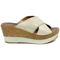 Zapatos Mujer Zuecos (Mules) Aplauso 14003 Beige