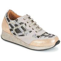 Zapatos Mujer Zapatillas bajas Karston SEMIR Beige / Oro