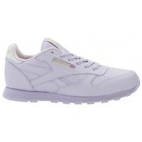 Zapatos Niños Zapatillas bajas Reebok Sport Classic Leather violeta