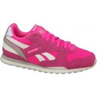 Zapatos Niños Zapatillas bajas Reebok Sport GL 3000 rosa