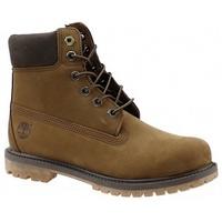 Zapatos Mujer Botas de caña baja Timberland 6 Premium Boot marrón