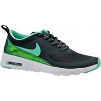 Zapatos Niños Multideporte Nike Air Max Thea Print GS 820244-002 Czarne
