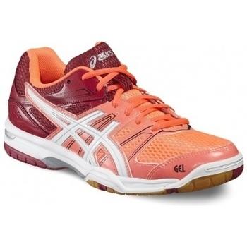 Zapatos Mujer Multideporte Asics Gel-Rocket 7 rojo