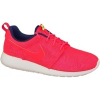 Zapatos Mujer Multideporte Nike Roshe One Moire Wmns rojo