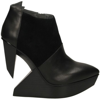 Zapatos Mujer Low boots United nude EDGE Negro