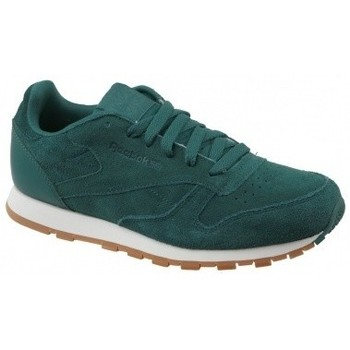 Zapatos Niños Multideporte Reebok Sport CL Leather SG verde
