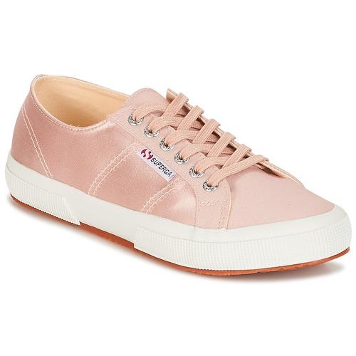 Zapatos promocionales Superga 2750 SATIN W Rosa  Descuento de la marca