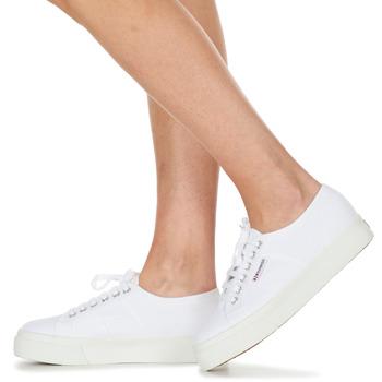Superga 2730 COTU Blanco - Envío gratis |  - Zapatos Deportivas bajas Mujer 7899