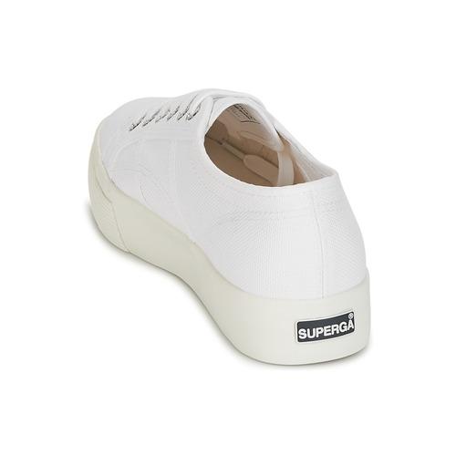 Cómodo y bien parecido Superga 2730 COTU Blanco - Envío gratis Nueva promoción - Zapatos Deportivas bajas Mujer