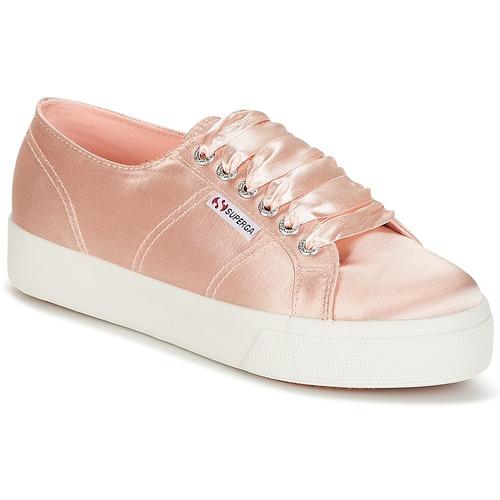 Zapatos promocionales Superga 2730 SATIN W Rosa  Descuento de la marca