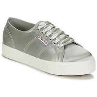 Zapatos Mujer Zapatillas bajas Superga 2730 SATIN W Gris