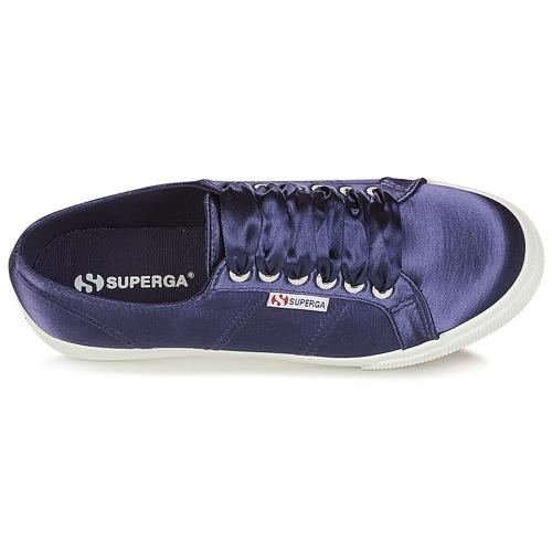 Mujer Zapatillas Superga Marino Satin W Bajas 2730 Zapatos MGpVqSUz