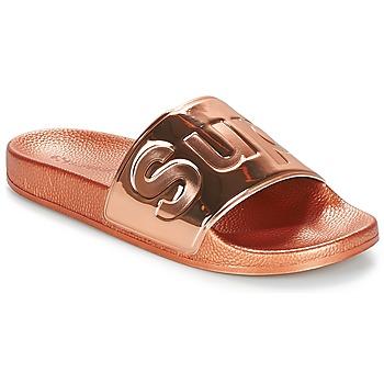 Zapatos Mujer Chanclas Superga 1908 PUNE TU Rosa / Gold