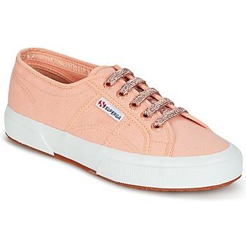 Zapatos Mujer Zapatillas bajas Superga 2750 CLASSIC SUPER GIRL EXCLUSIVE Melocotón
