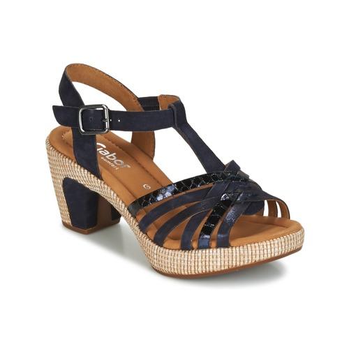 Gabor MASTIAR Marino - Envío gratis | ! - Zapatos Sandalias Mujer
