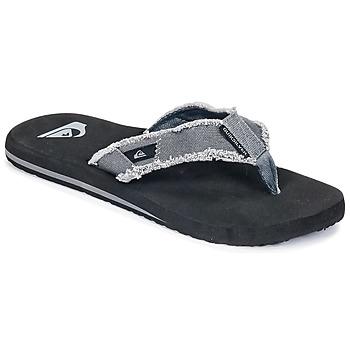 Zapatos Hombre Chanclas Quiksilver MONKEY ABYSS M SNDL XSKC Gris
