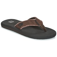 Zapatos Hombre Chanclas Quiksilver MONKEY ABYSS M SNDL CTK1 Negro / Marrón