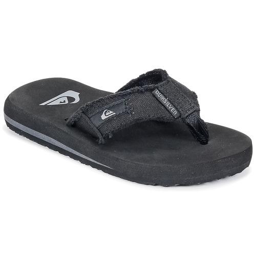 Zapatos Niños Chanclas Quiksilver MONKEY ABYSS YT B SNDL XKKC Negro