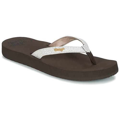 Reef Star Cushion Sassy Sandalias Flip-Flop, Mujer, Marrón, 37 1/2