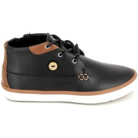 Zapatos Niños Zapatillas altas Faguo Wattle Leather BB Noir Negro