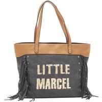 Bolsos Mujer Bolso shopping Little Marcel Sac Shopping Victoire Noir VI 01 Negro
