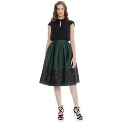 textil Mujer vestidos cortos Kocca Vestido Ubegano Verde