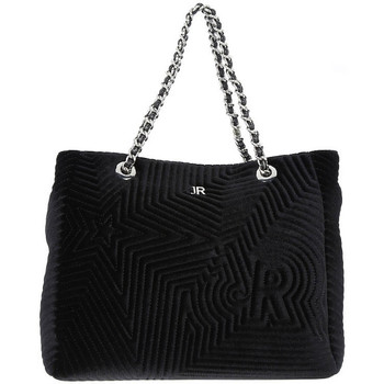 Bolsos Mujer Bolso shopping Richmond BLACK STAR VELVET Nero