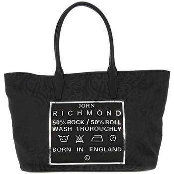 Bolsos Mujer Bolso shopping Richmond BLACK SILVER TATOO Grigio
