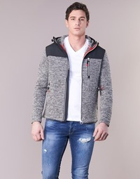 textil Hombre sudaderas Superdry STORM MOUNTAIN ZIPHOOD Gris