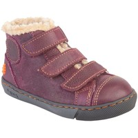 Zapatos Niña Botas de nieve The Art Company A511 WAX-GRAIN PURPLE-LILA /DOVER Lila