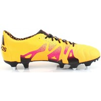 Zapatos Hombre Fútbol adidas Performance X 15.1 SG LEATHER Jaune