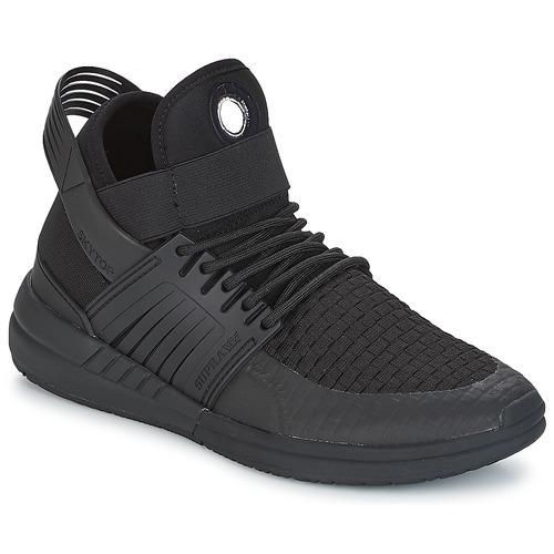 Venta de liquidación de temporada Zapatos especiales Supra SKYTOP V Negro