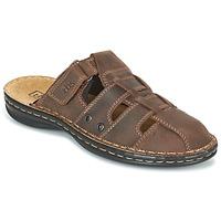 Zapatos Hombre Zuecos (Mules) TBS BASSOA Marrón
