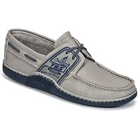 Zapatos Hombre Zapatos náuticos TBS GLOBEK Gris / Azul