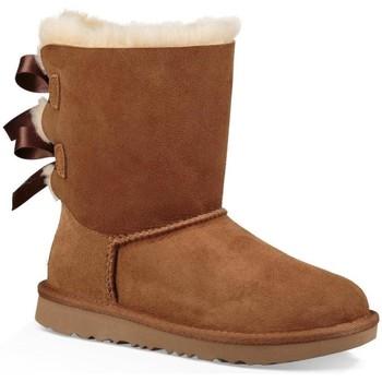 Zapatos Niña Botas de nieve UGG K BAILEY BOW II Marrón