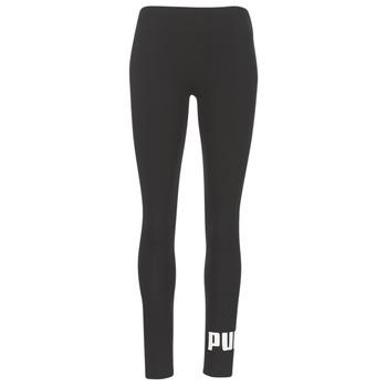 textil Mujer leggings Puma ESS NO.1 LEGGINGS W Negro