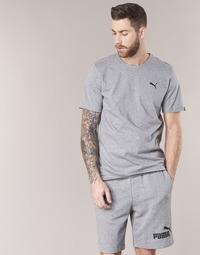 textil Hombre camisetas manga corta Puma ESS TEE Gris
