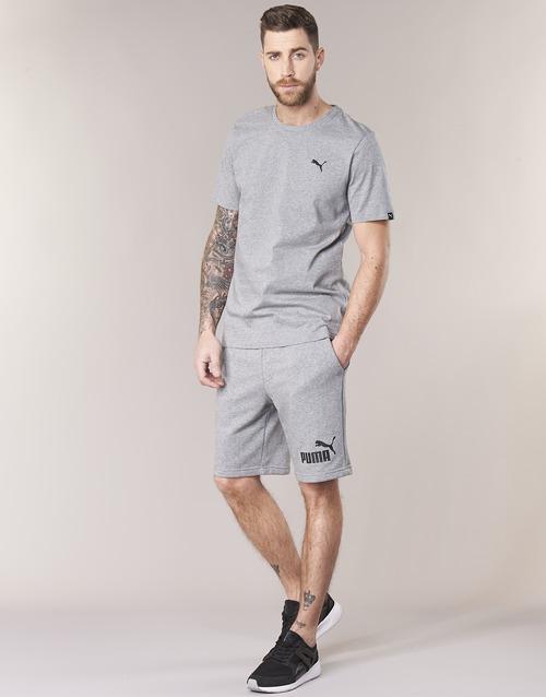 Manga Tee Corta Textil Ess Gris Hombre Camisetas Puma 35jR4AL