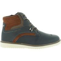 Zapatos Mujer Botas de caña baja Lois Jeans 83840 Azul